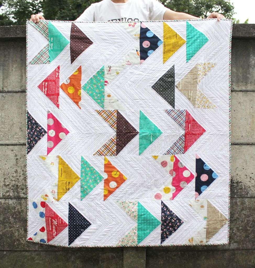 The Best Quilts For Beginners (No Cutting Required!) | Sew Fantastic ...