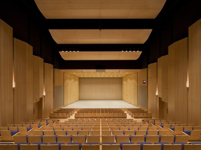 Maki And Associates Auditorium Design Auditorium Architecture
