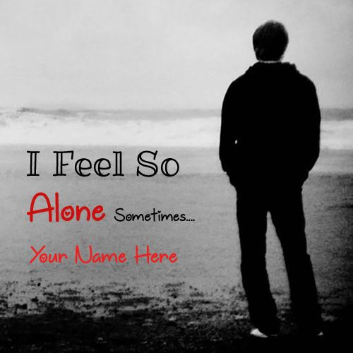 Sad Boy Alone Quotes: I Feel Alone, Alone, Sad