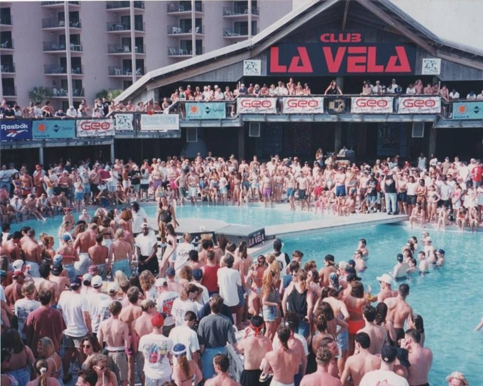 Club La Vela The Largest Nightclub In Us Springbreak Pion Group Is A Proud Sponsor
