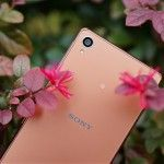 Let's have a look at shades of Xperia Z3 in Copper color
