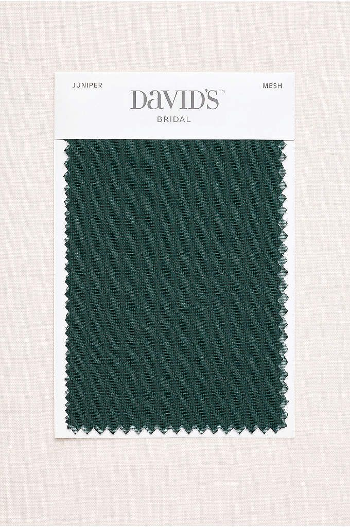 798341645df Juniper Fabric Swatch - Available in all of David s Bridal s exclusive  colors