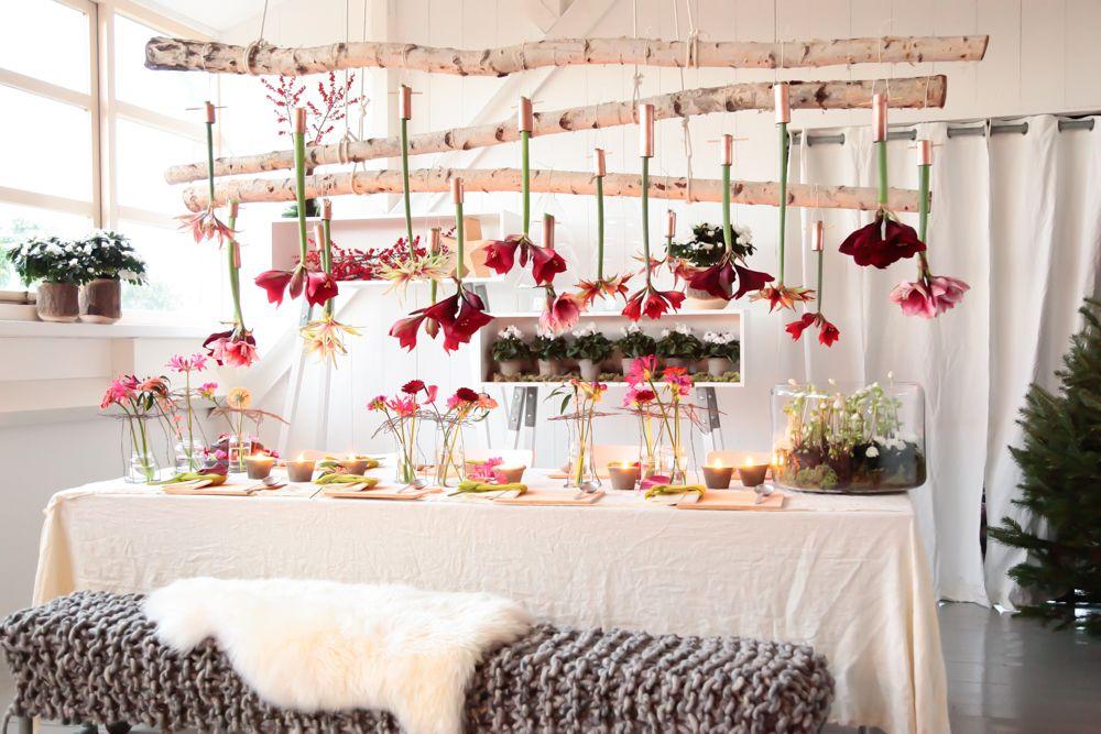 Do it yourself  décor de Noël tout en fleurs