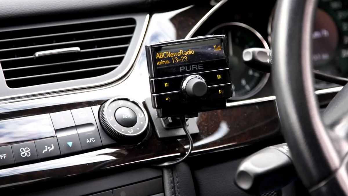 Pure Highway 300Di review | You're not buying a new car. You're happy with your head unit. But you want to add some in-car functionality. What you need is the Pure Highway 300Di. Reviews | TechRadar