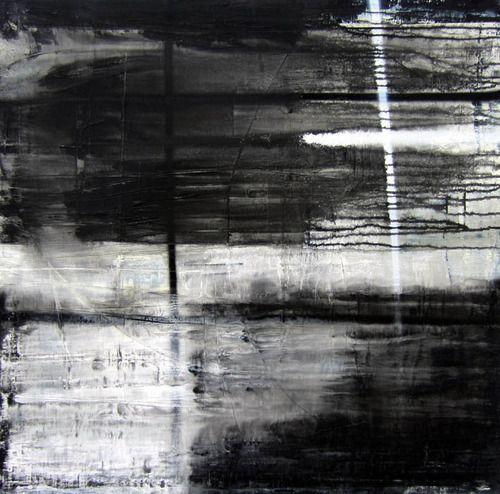 80 x 4 cm mischtechnik auf leinwand c 2013 abstract white art black foto bilder 100x75