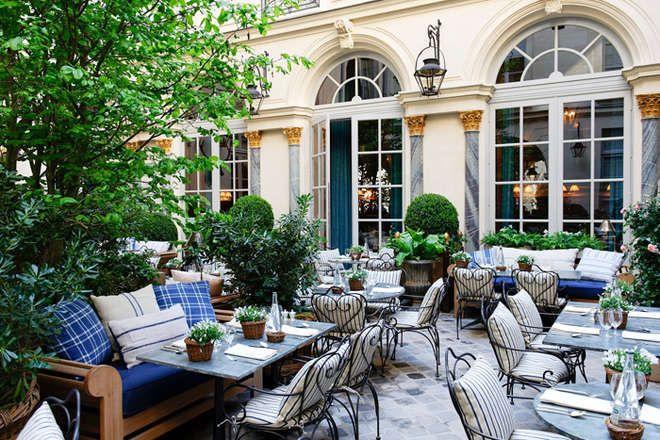 Croissant Les 30 restaurants avec les plus belles terrasses de Paris CU-71