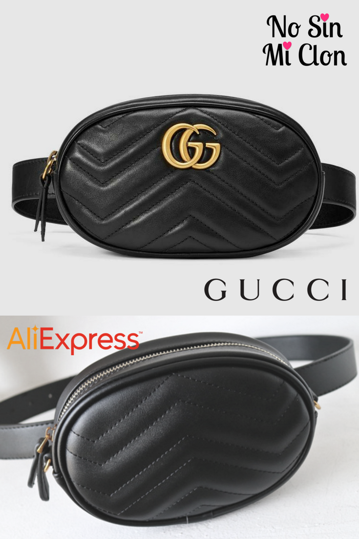linda niño auténtico Riñonera Gucci vs. Clon AliExpress / Gucci Belt Bag vs ...