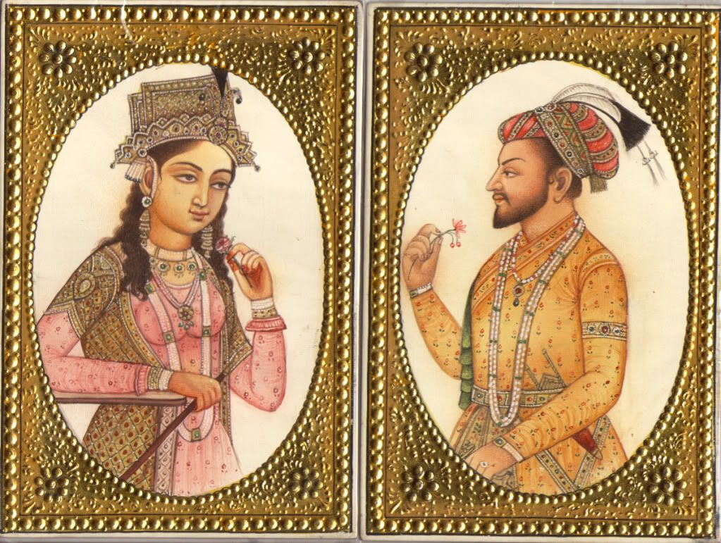 Nur Jahan, Jahangir's wife, dominated the empire for a time ...
