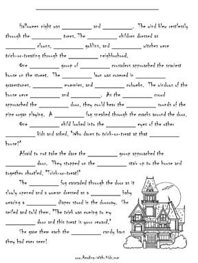 Get ready for that special seasion with these Halloween worksheets ...