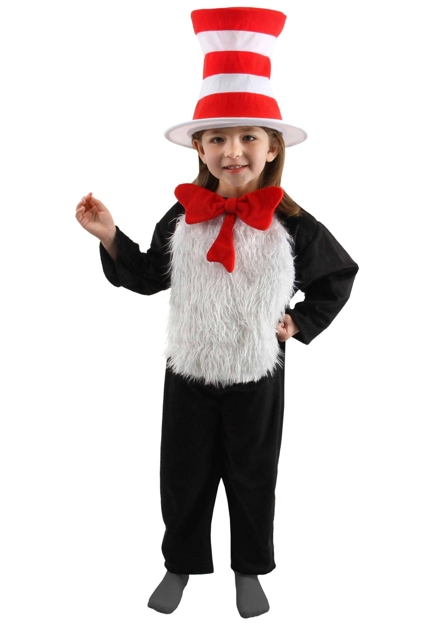 deluxe child cat in the hat costume - Cat In The Hat Halloween Costume Ideas