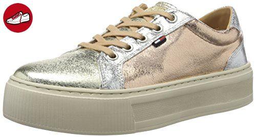 Tommy Hilfiger V1285enus 1n1, Sneaker Basses Femme, (Chambray 022), 39 EU