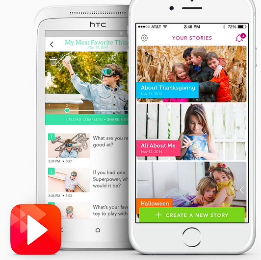 MomSquadPinIt: Make Video Memories with Your Kids!