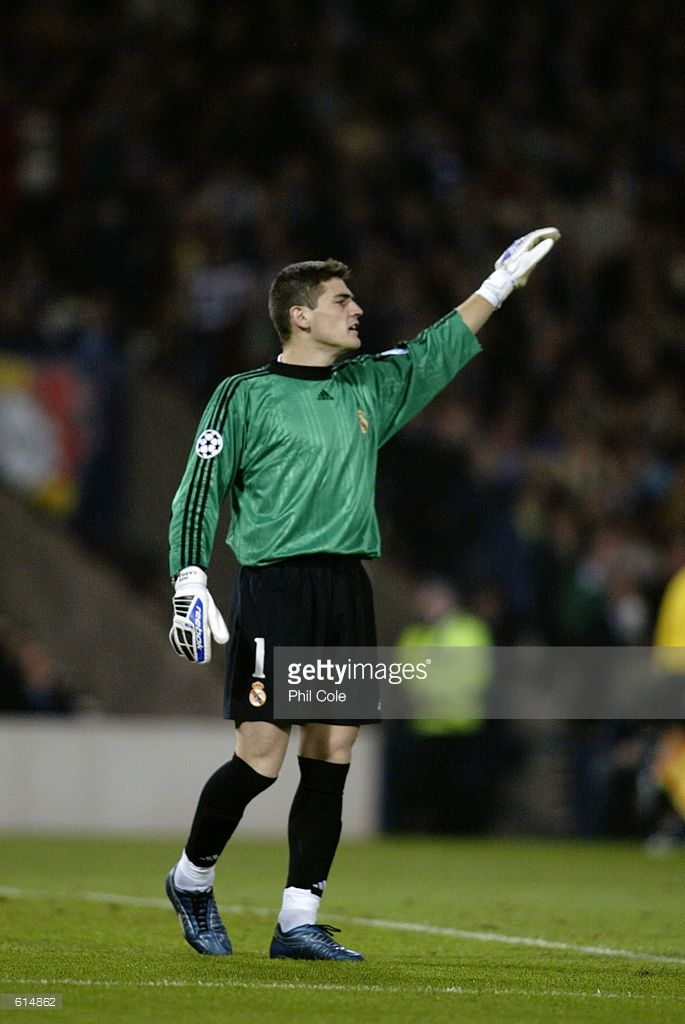 Iker Casillas Of Real Madrid In Action During The Uefa Champions Iker Casillas Real Madrid Real Madrid Win