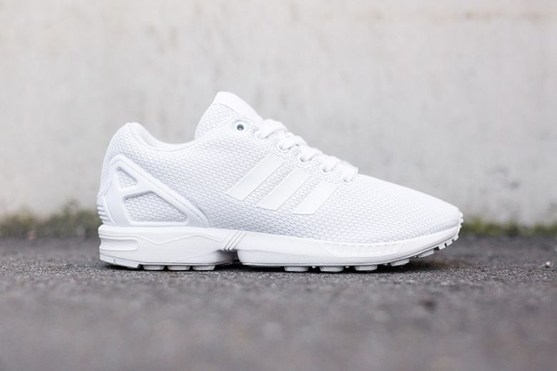 Adidas Flux White And Grey