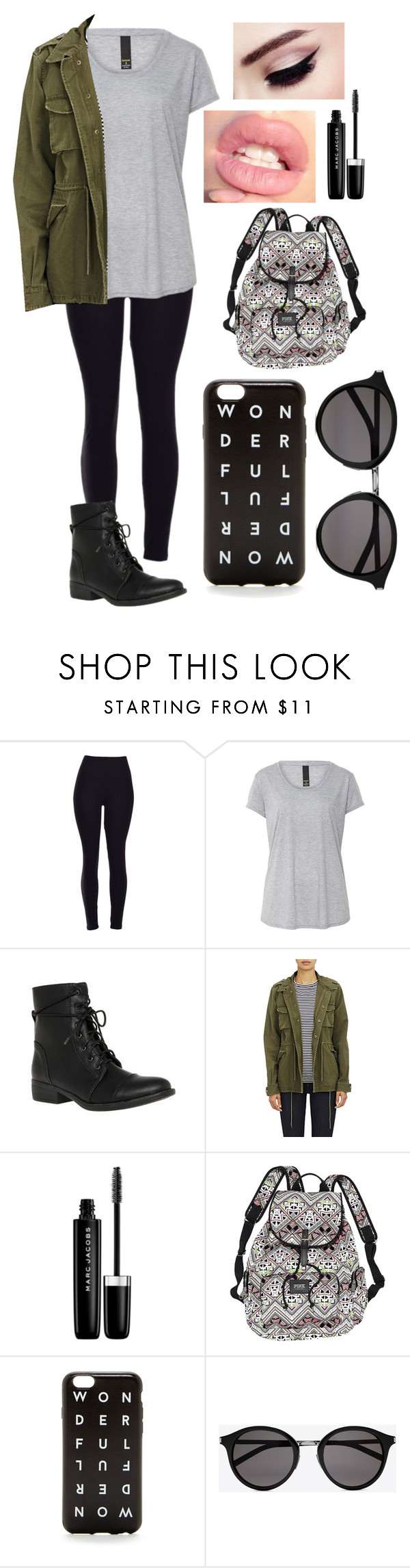 """Go To Outfit"" by madim13 ❤ liked on Polyvore featuring Barneys New York, Marc Jacobs, Victoria's Secret, J.Crew and Yves Saint Laurent"
