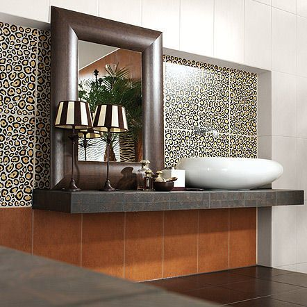 Bathroom ideas with animal prints | Animal print decor ...