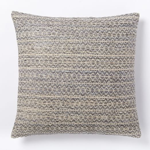 345 - Guest - Silk Stacked Diamonds Pillow Cover | west elm