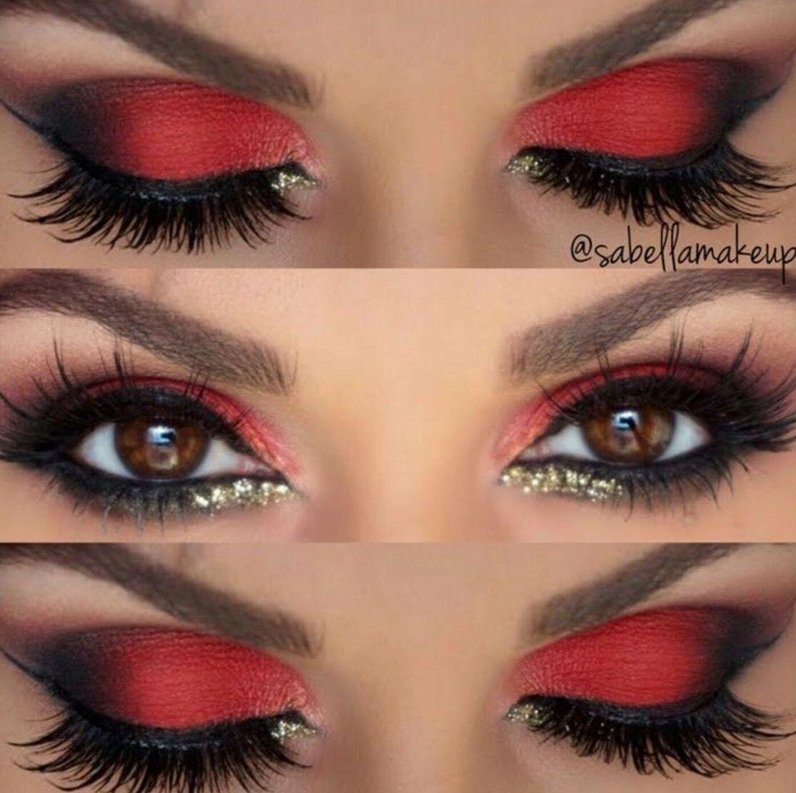 Pin on Metallic & Glittery Makeup Looks