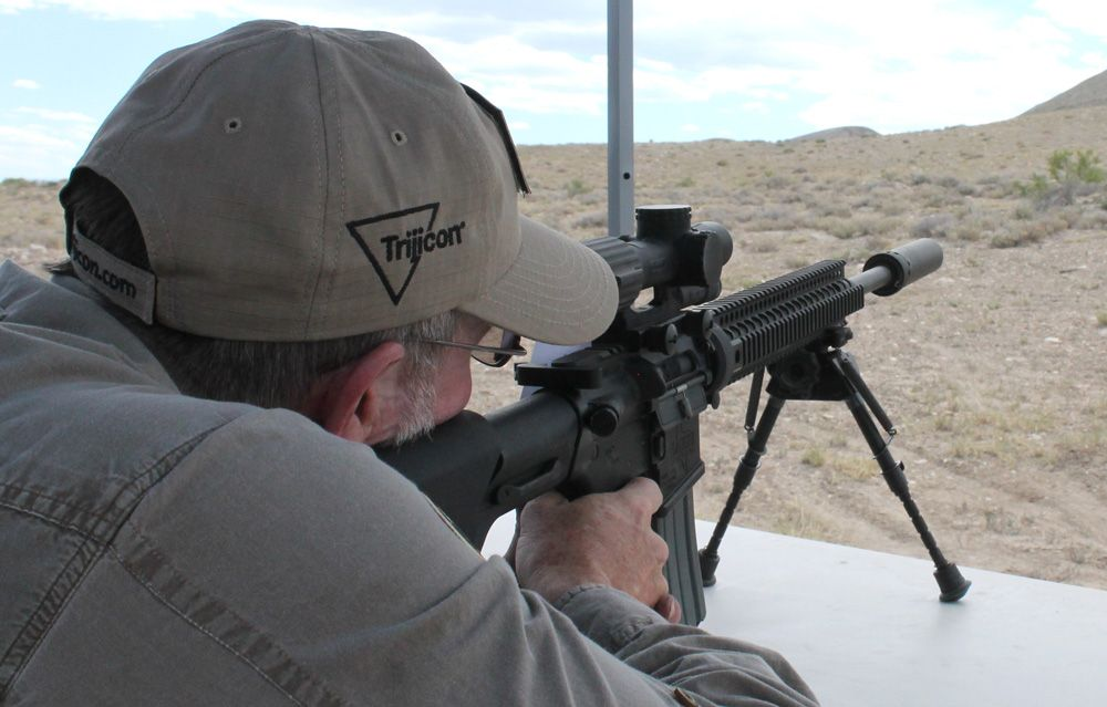 My First Time Shooting My AR-15 From 200 Yards   ThruMyLens