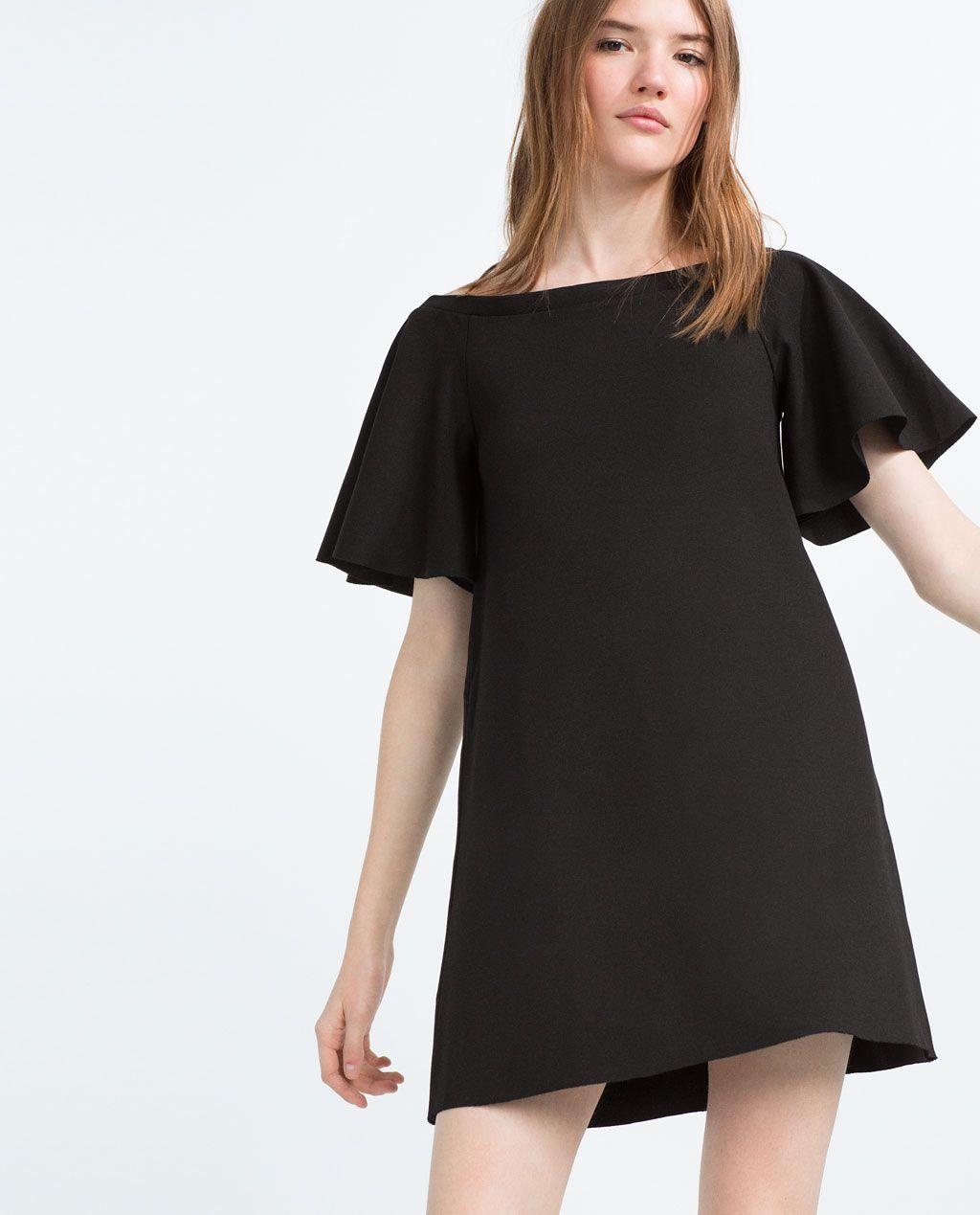 2e049ac9 Image 2 of FLOUNCE SLEEVE DRESS from Zara | Things to Wear | Dresses ...