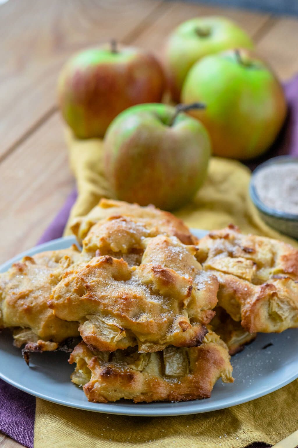 Saftige Apfel Zimt Taler Einfach Malene Rezept Apfel Zimt Kuchen Zimtkuchen Lebensmittel Essen