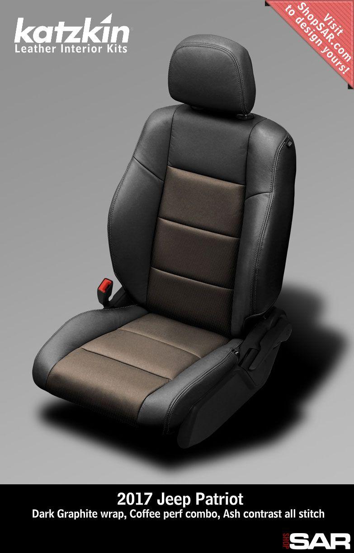 Katzkin Leather Interior Kits Jeep Patriot Leather Seat Covers