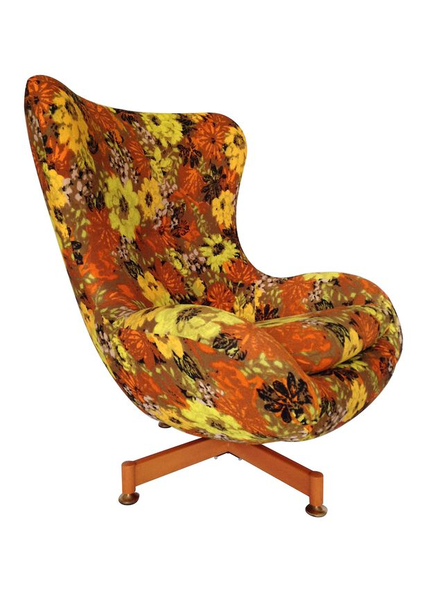 Amazing Retro Swivel Chair #10 - 1960u0027s Greaves And Thomas Retro Swivel Egg Chair