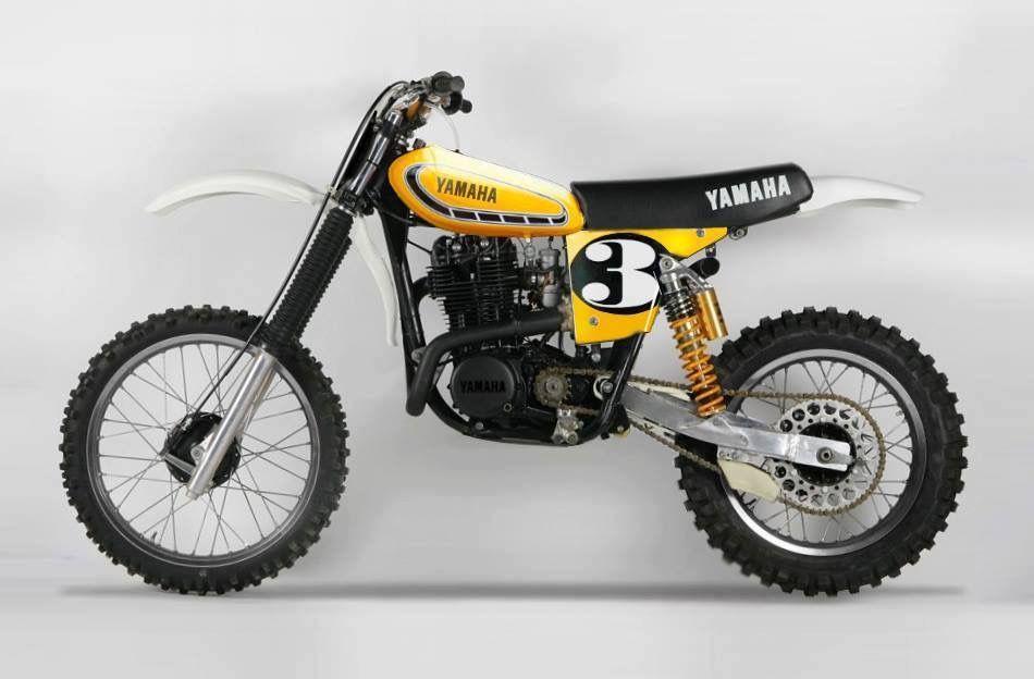 Yamaha Hl 500 Tracker Motorcycle Yamaha Bikes Motocross Bikes