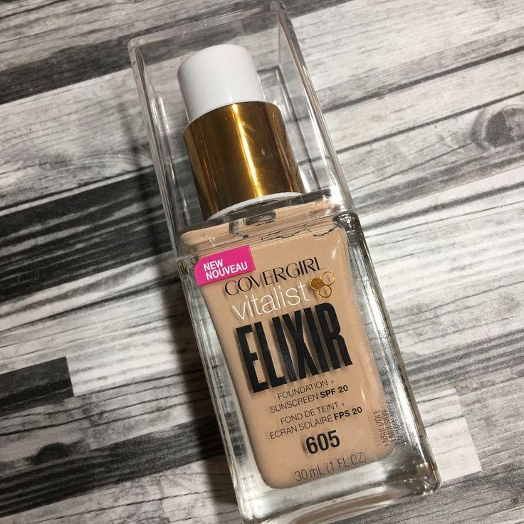 Drugstore Covergirl Vitalist Elixir Foundation Review