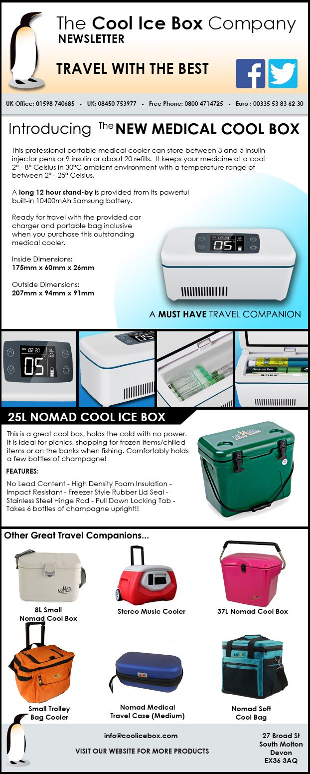 Cool Ice Box Company Newsletter  Vaccine And Sample Transport