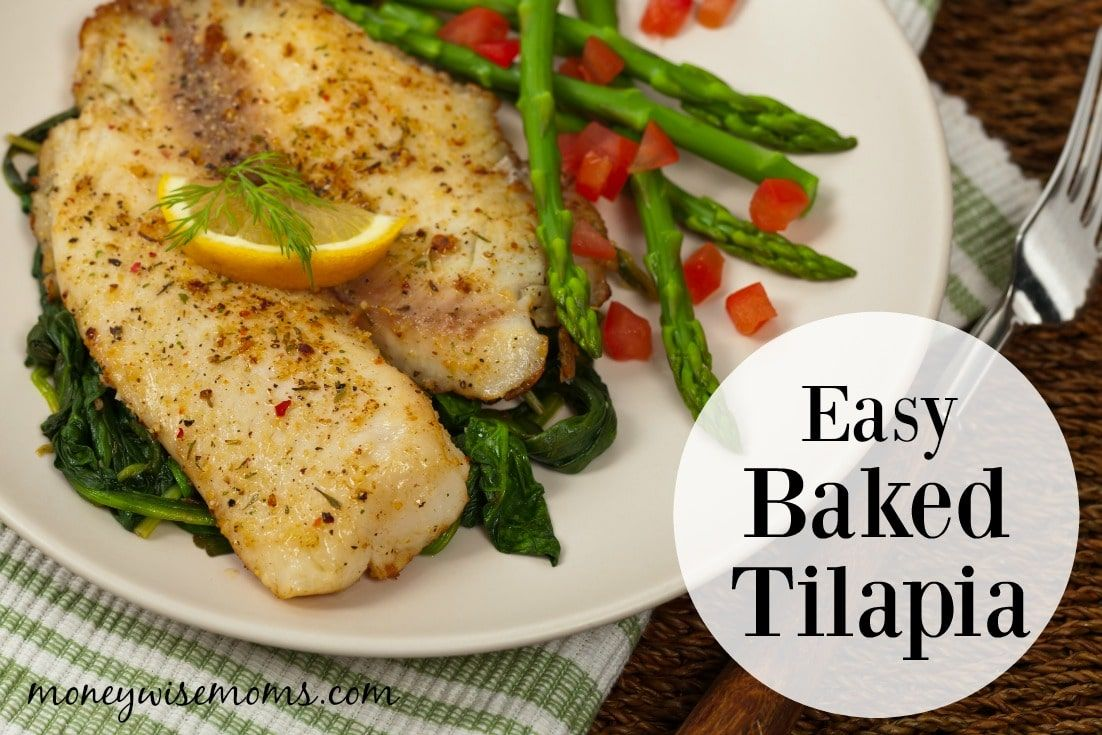 Photo of Easy Baked Tilapia {20 Minute Meal} – Moneywise Moms