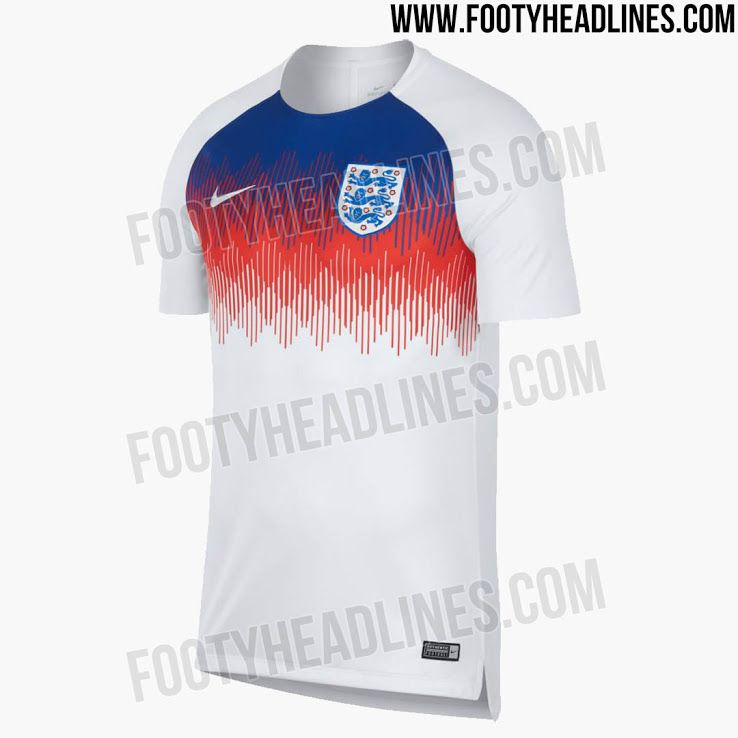 Awesome England 2018 World Cup Pre Match Jersey Released Footy Headlines World Cup Jersey England World Cup 2018