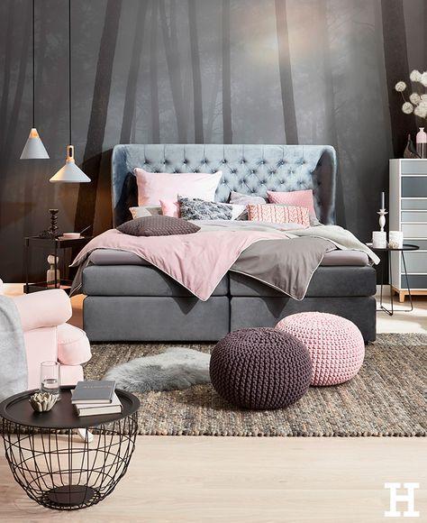 Einfach Fallen Lassen Bett Boxspringbett Hygge Gemutlich Innenarchitektur Wohnzimmer Zimmer Einrichtungsideen Schlafzimmer
