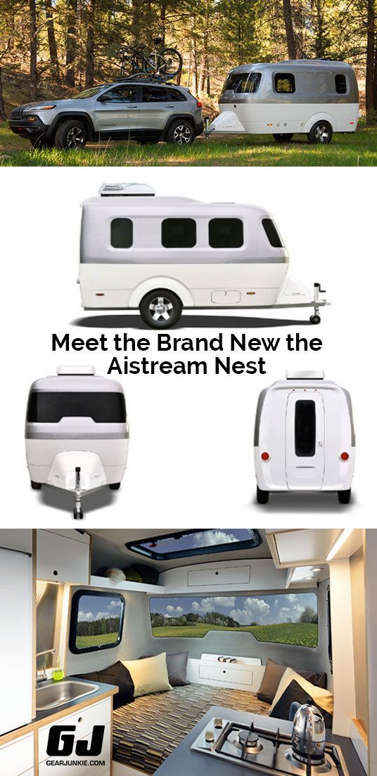 No More Metal Airstream Launches Fiberglass Nest Camper Small