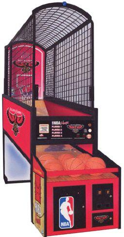 Nba Hoops Basketball Arcade Machine Arcade Arcade Games Indoor Basketball