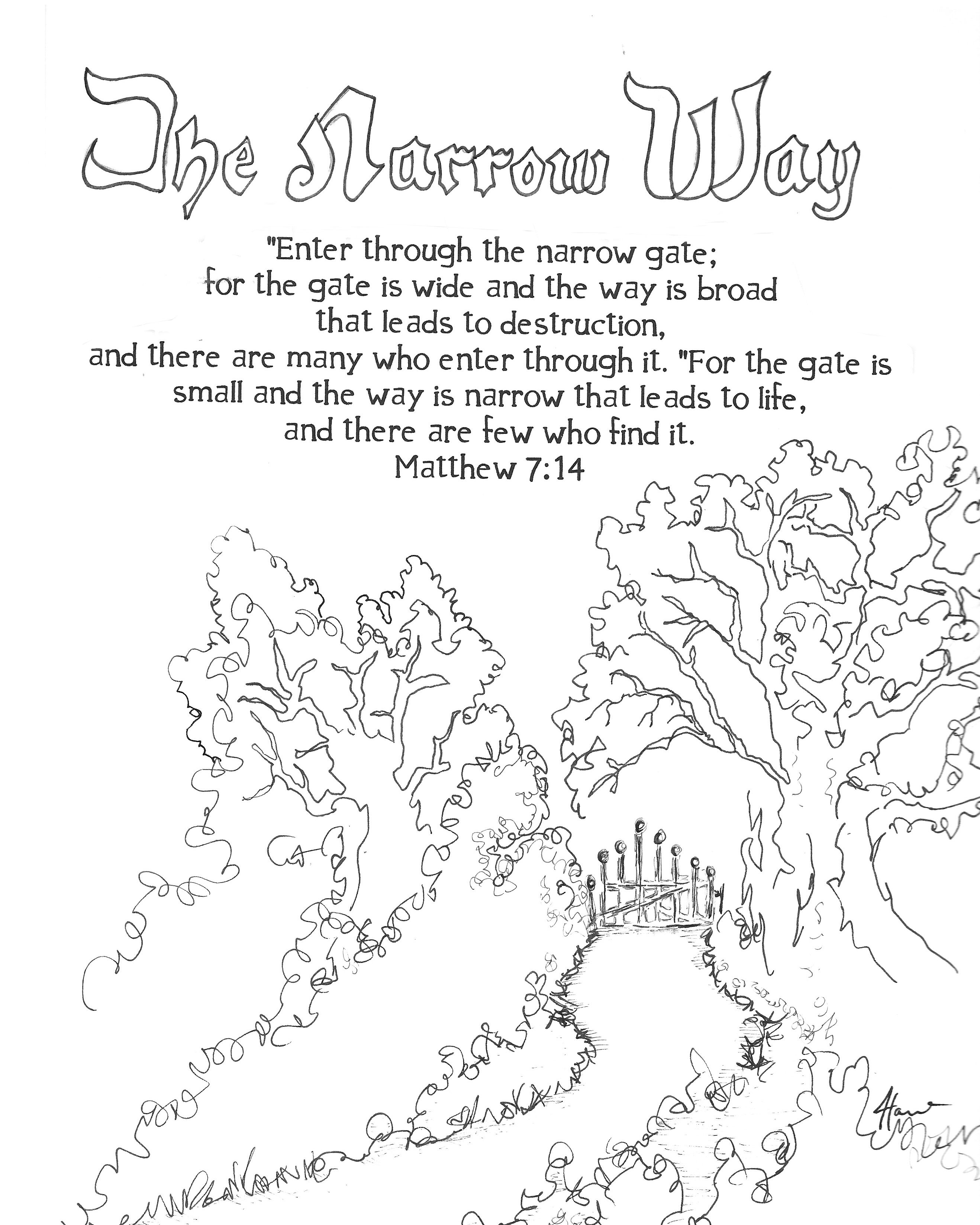 Surely He Stands At The Door Printable Free 8x10 Coloring Devotions To Journal God S Word Soul Dood Bible Coloring Pages Bible Coloring Bible Verse Coloring