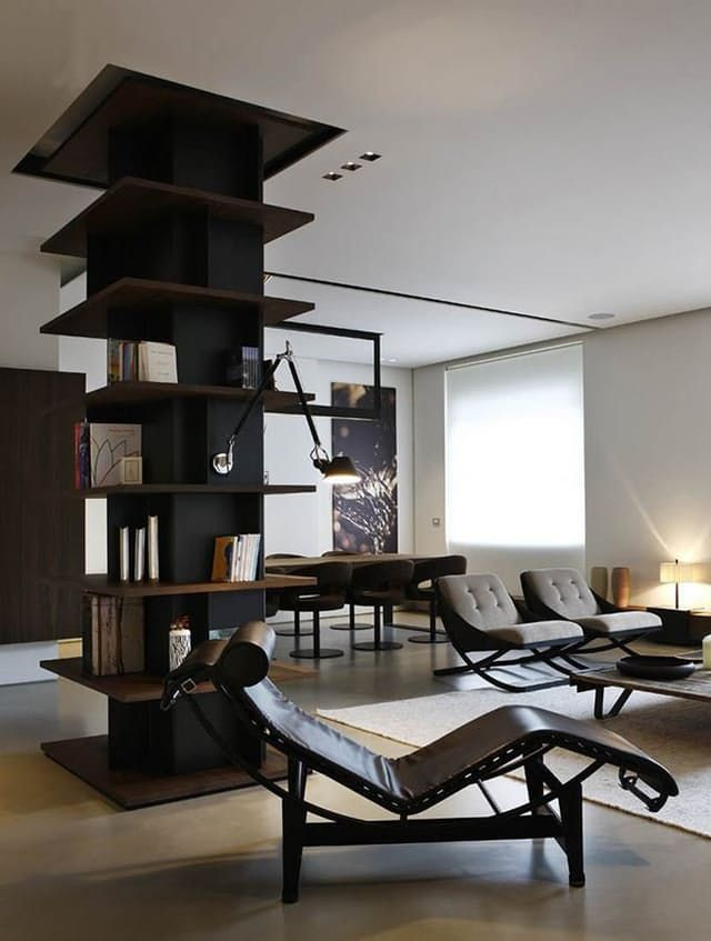 4 ways to get storage out of a support wall or column furniture rh pinterest com