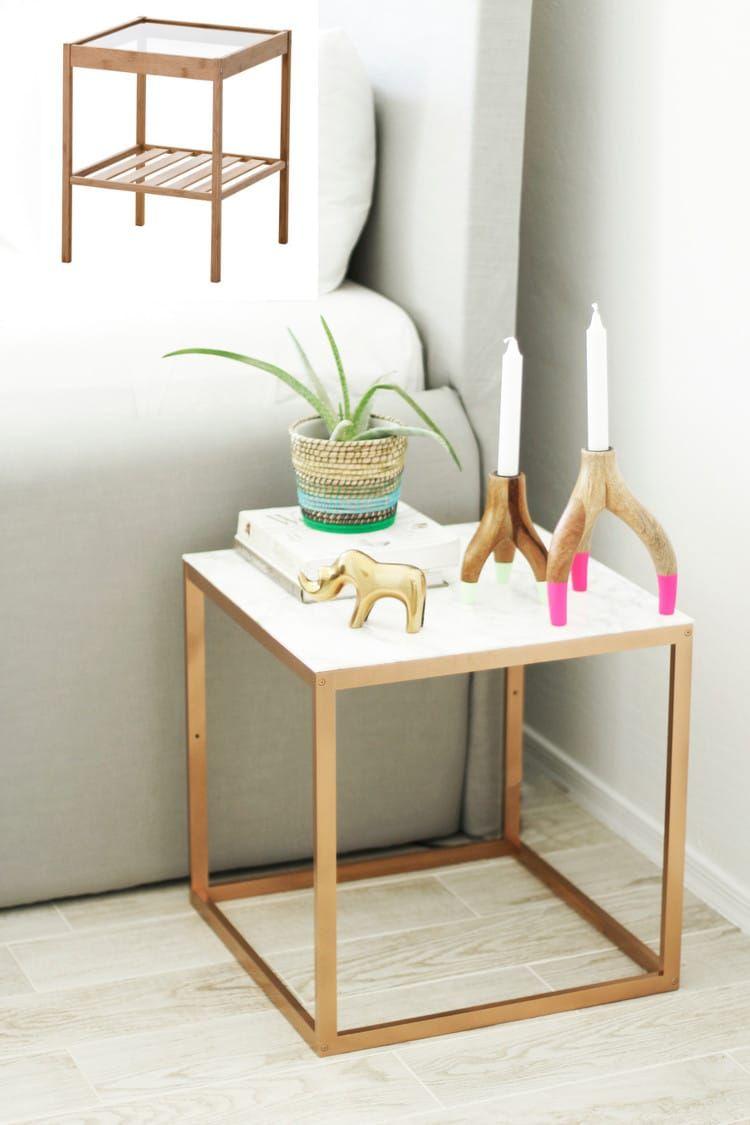 mesa auxiliar ikea | dormitorio | Pinterest | Mesa auxiliar ikea ...
