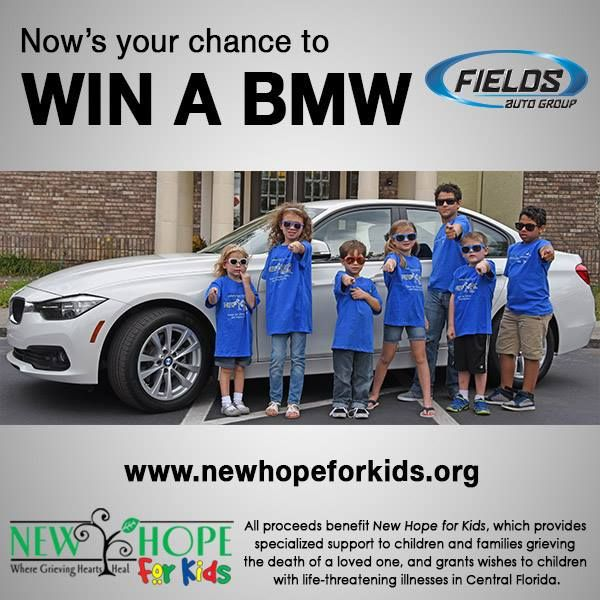 Now's your chance to WinABMW from Fields Auto Group via
