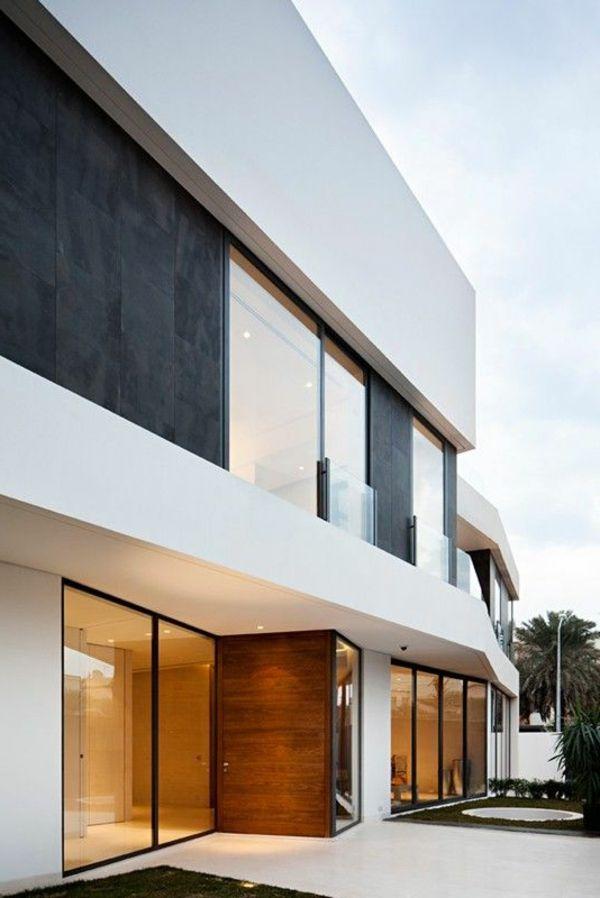 Weiße Fassade für ein modernes und geschmackvolles Haus - Weiß als
