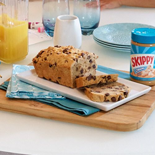Peanut Butter Chocolate Chip Bread - Skippy Brand Peanut Butter