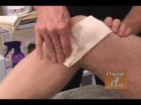 Heres Our Youtube Video Of A Male Leg Waxing We Recently Posted