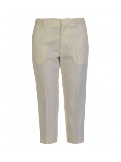 Wool-blend cropped trousers Maison Martin Margiela CmfdGbxkBx