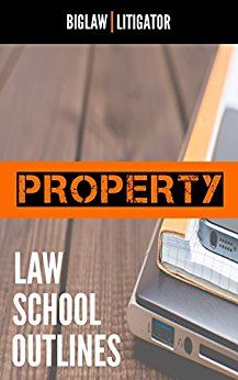 Best Property Outline For Law School!