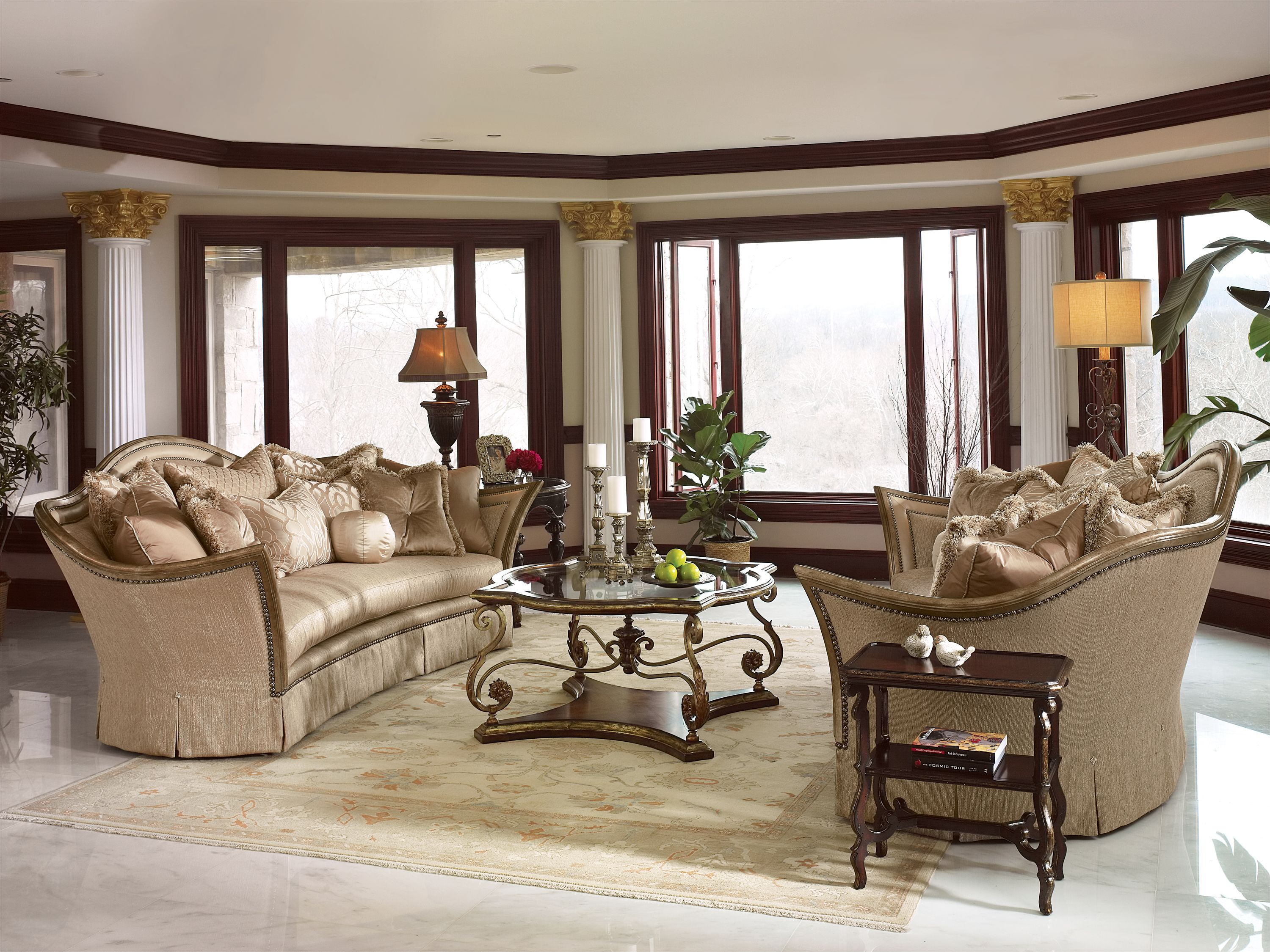 Beautiful Living Room By Marge Carson Living Room Sets