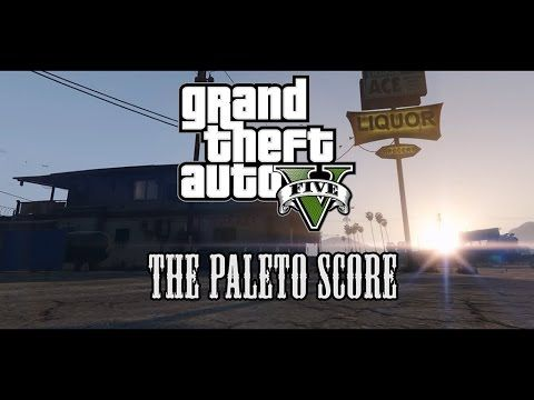 The whole Paleto Score mission as a in-game cinematic