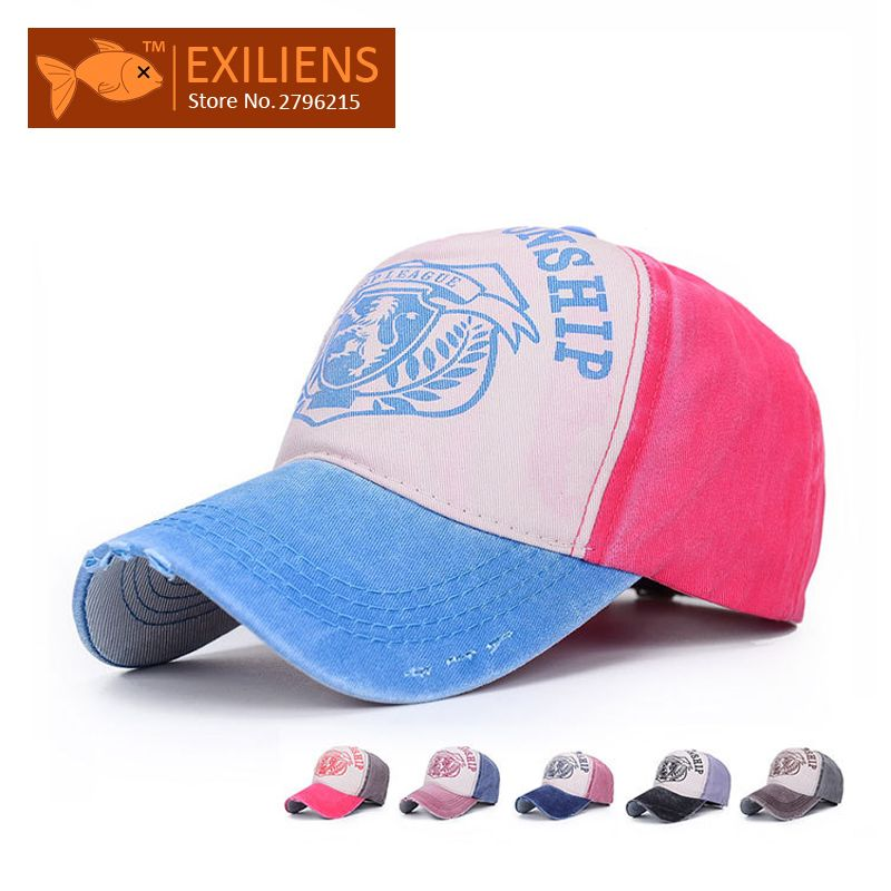 8cbcd9d296a 2015 Fashion Brand Outdoor Sports Snapback Baseball Caps For Women Letter  Stamp Hip Hop Vinage Bone Aba Reta Cap Mens Sun Hats