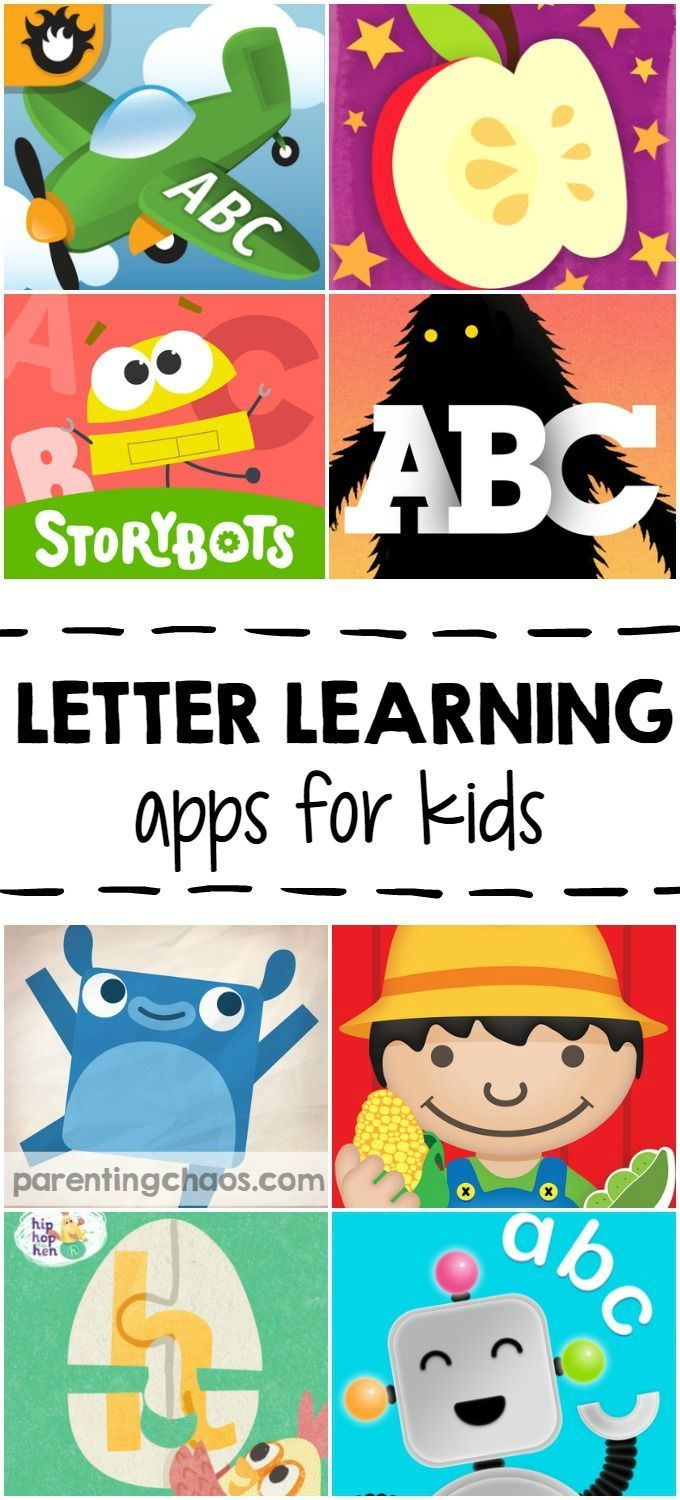 Letter Learning Apps for Kids: 10 Apps that teach letter knowledge ...