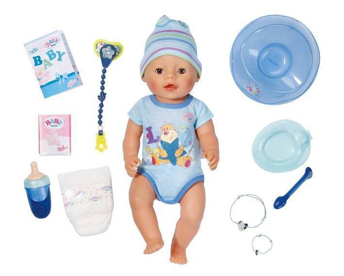 Details About Zapf Baby Born Interactive Boy Doll Baby