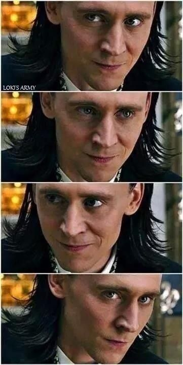 Loki looks/ I think this was my favorite look out of the whole movie.